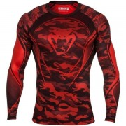 Рашгард Venum Camo Hero red