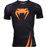 Рашгард Venum Challenger black - orange