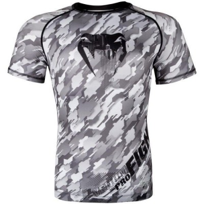 Рашгард Venum Tecmo S/S - Black/Grey